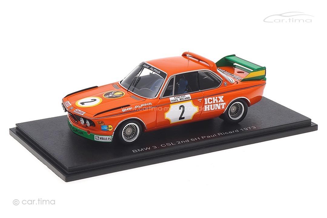 BMW 3.0 CSL 6h Paul Ricard 1973 Ickx/Hunt Spark 1:43 S2820