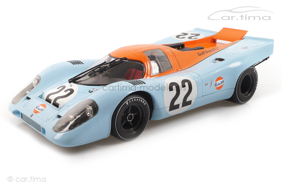 Porsche 917 K 24h Le Mans 1970 Attwood/Hobbs Norev 1:12 127505