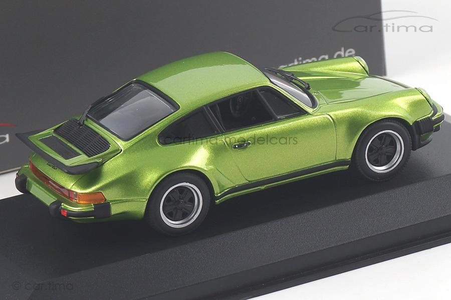 Porsche 911 (930) Turbo 3.0 Vipergrün-diamant Minichamps car.tima EXCLUSIVE 1:43 CA04316027