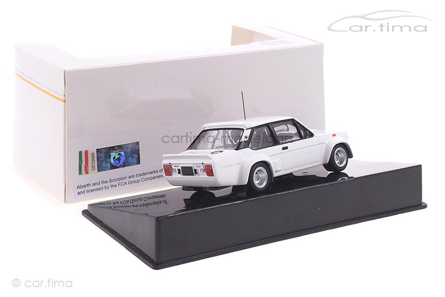 Fiat 131 Abarth weiß IXO 1:43 MDCS028