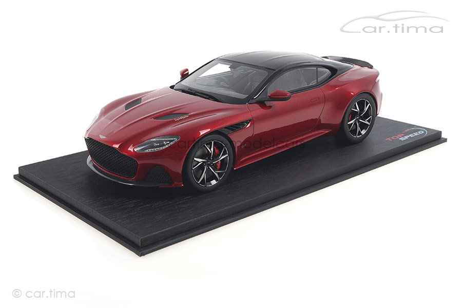 Aston Martin DBS Superleggera Hyper red TopSpeed 1:18 TS0266