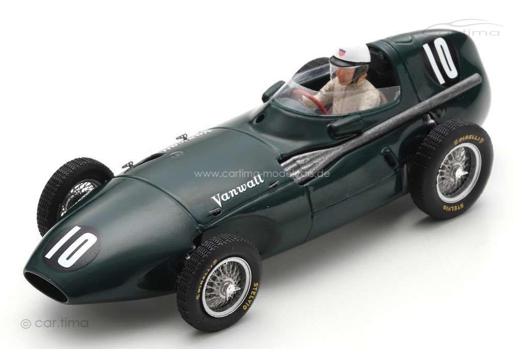 Vanwall VW2 GP Belgien 1956 Harry Schell Spark 1:43 S7203