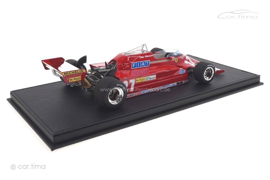 Ferrari 126 CK GP 1981 Gilles Villeneuve GP Replicas 1:18 GP16A