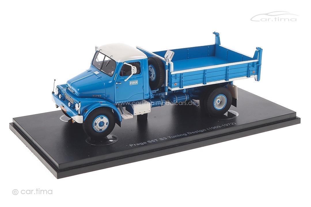 Praga S5T S3 Tuning Design blau/weiß autocult 1:43 90161