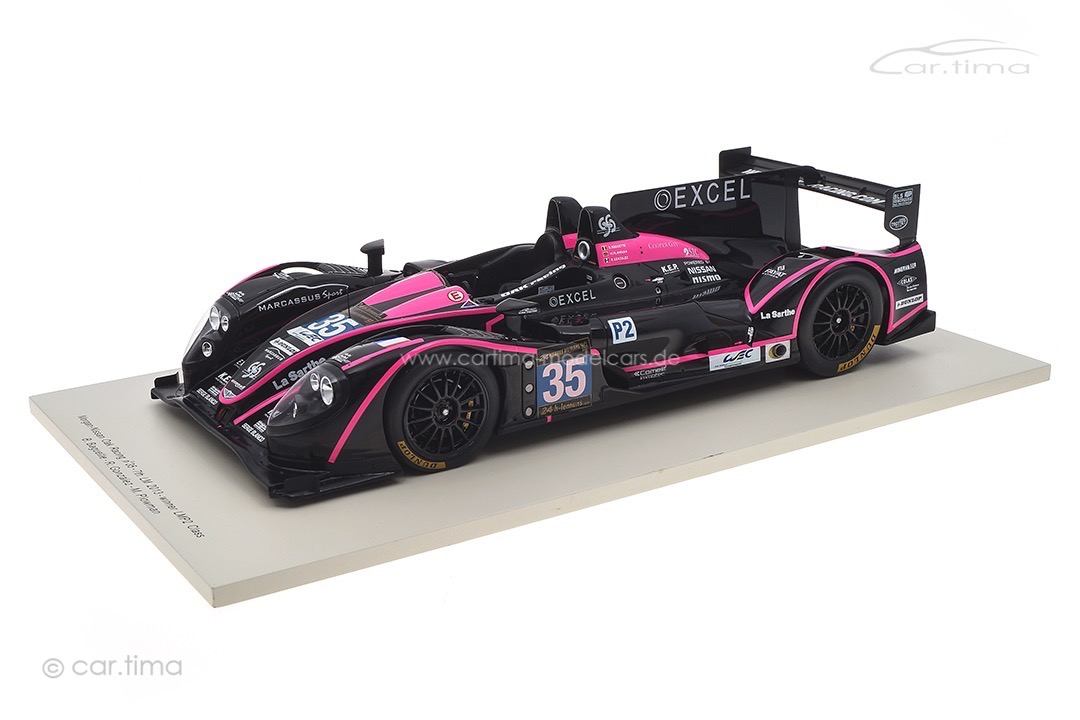 Morgan-Nissan OAK Racing Winner LMP2 24h Le Mans 2013 Spark 1:18 18S101