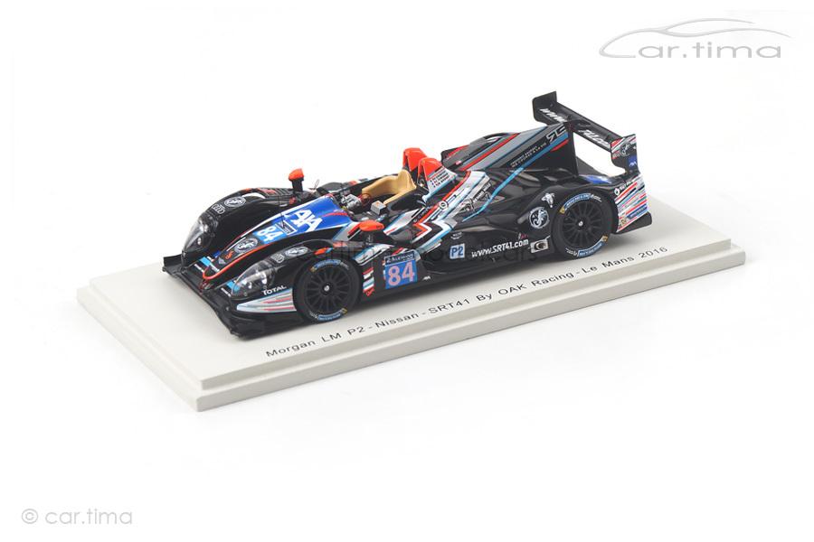Morgan LM P2-Nissan 24h Le Mans 2016 Bouvet/Tinseau/Sausset Spark 1:43 S5146