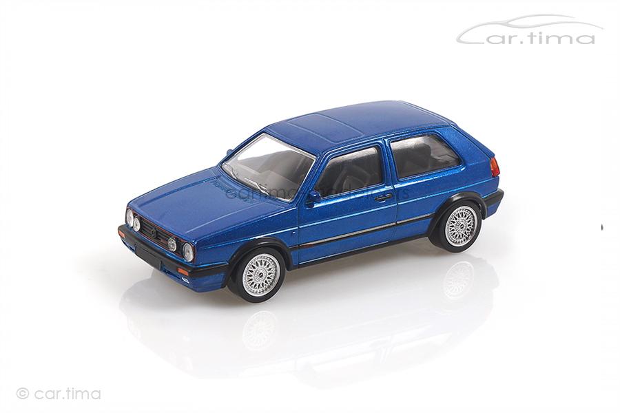 VW Volkswagen Golf GTi G60 1990 blau met. Norev 1:43 840064