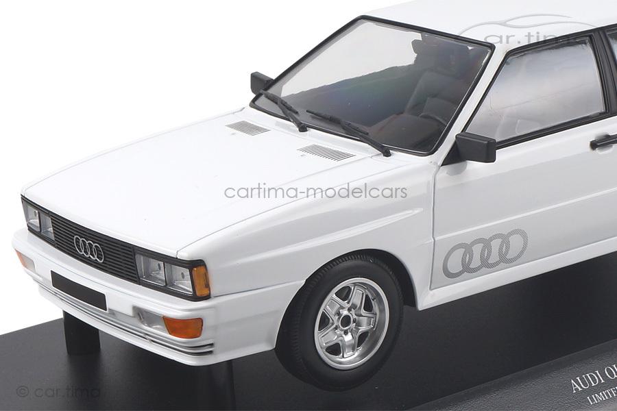 Audi Quattro 1980 weiß Minichamps 1:18 155016120