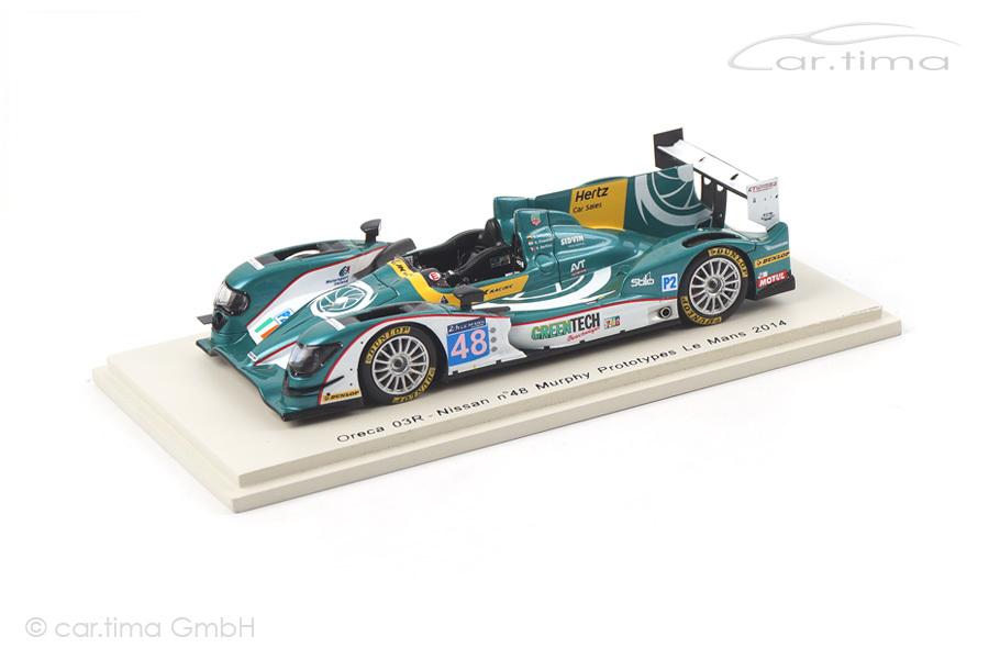 Oreca 03R-Nissan 24h Le Mans 2014 Berthon/Chandhok/Gonzalez Spark 1:43 S4225