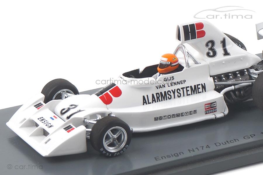 Ensign N174 GP Niederlande 1975 Gijs van Lennep Spark 1:43 S5301