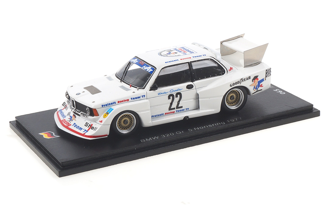 BMW 320 Gr. 5 DRM Norisring 1977 Dieter Quester Spark 1:43 SG397