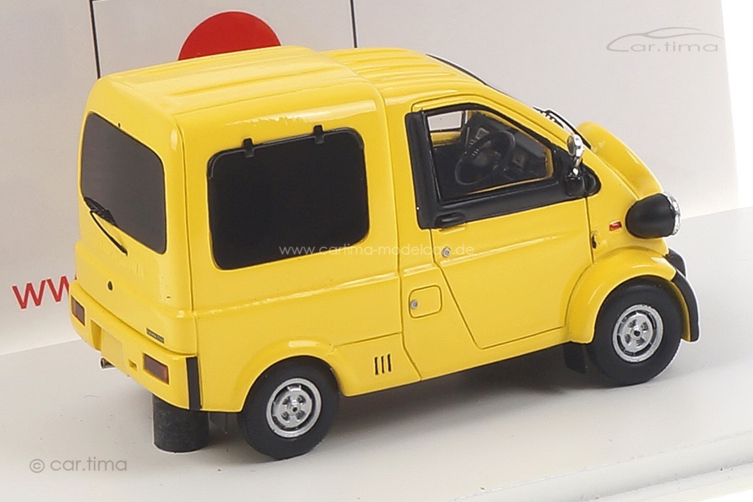 Daihatsu Midget II gelb Spark 1:43 SJ031