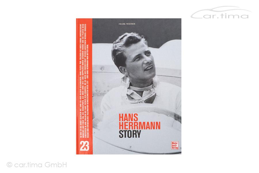 Buch/Book Hans Herrmann Story inkl. Signatur von Hans Herrmann Motorbuch Verlag