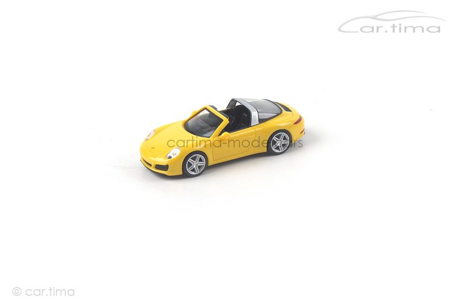 Porsche 911 (991) Targa Racinggelb Herpa 1:87 028868