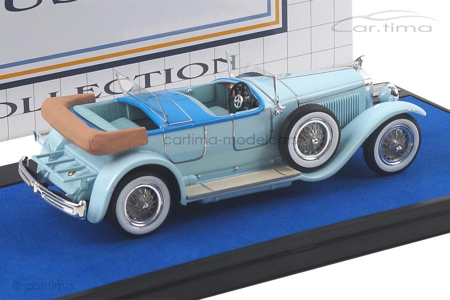 Hispano Suiza H6B Million Guiet Dual-Cowl Phaeton 1924 blau Matrix Scale Models 1:43 MXLM02-0806