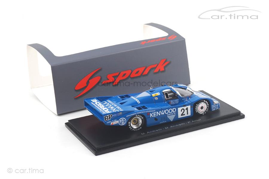 Porsche 956 L 24h Le Mans 1983 Andretti/Andretti/Alliot Spark 1:43 S5505