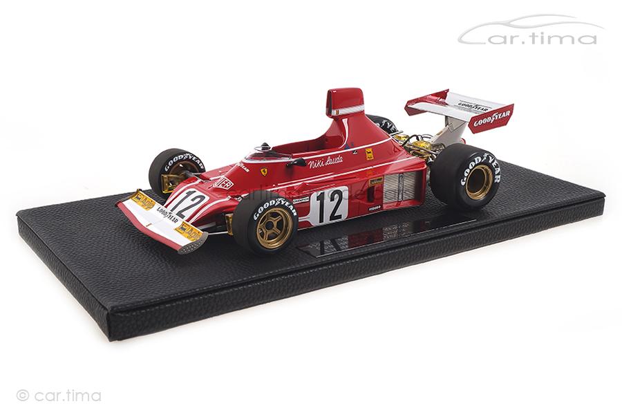 Ferrari 312 B3 Winner GP Spanien 1974 Niki Lauda GP Replicas 1:18 GP25C