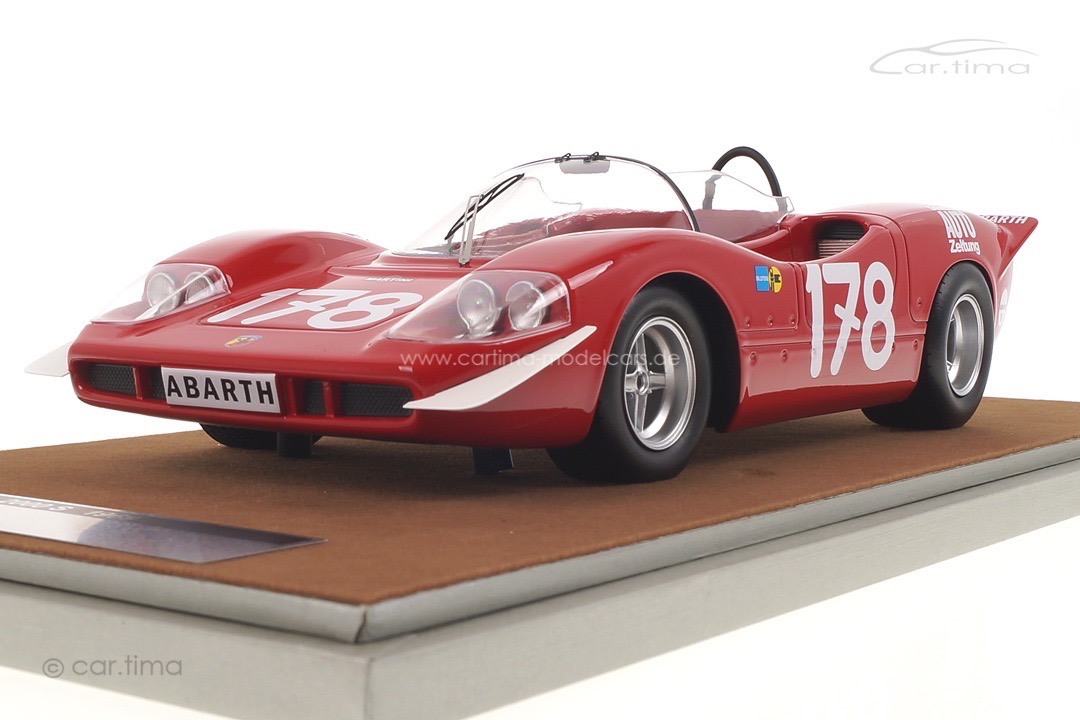 Abarth 2000 S Winner Targa Florio 1969 Bitter/Kelleners Tecnomodel 1:18 TM18-58C