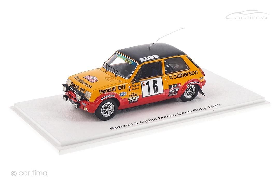Renault 5 Alpine Rallye Monte Carlo 1979 Fréquelin/Delaval Spark 1:43 S6033