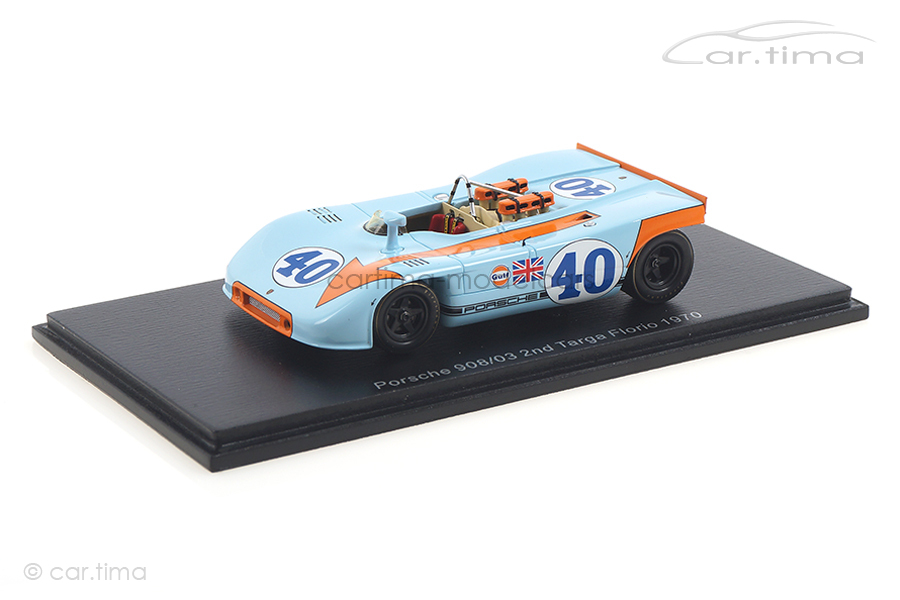 Porsche 908/03 Targa Florio 1970 Rodriguez/Kinnunen Spark 1:43 S4626