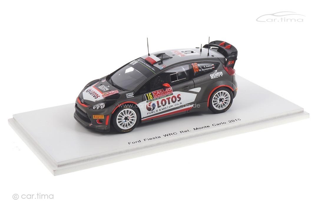Ford Fiesta WRC Rallye Monte Carlo 2015 Kubica/Szczepaniak Spark 1:43 S4511