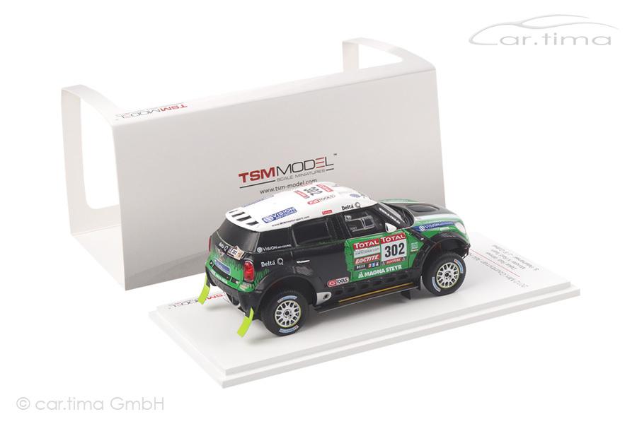 Mini Countryman All4 Racing Winner Rally Dakar 2012 Peterhansel/Cottret TSM 1:43 TSM144342