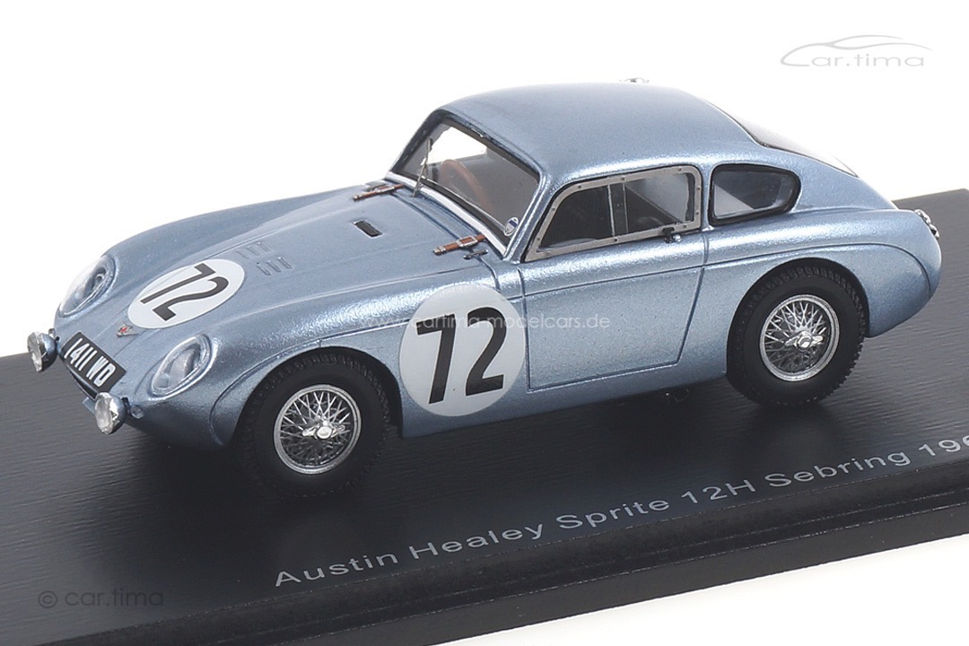 Austin Healey Sprite 12h Sebring 1962 McQueen/Colgate Spark 1:43 S4131