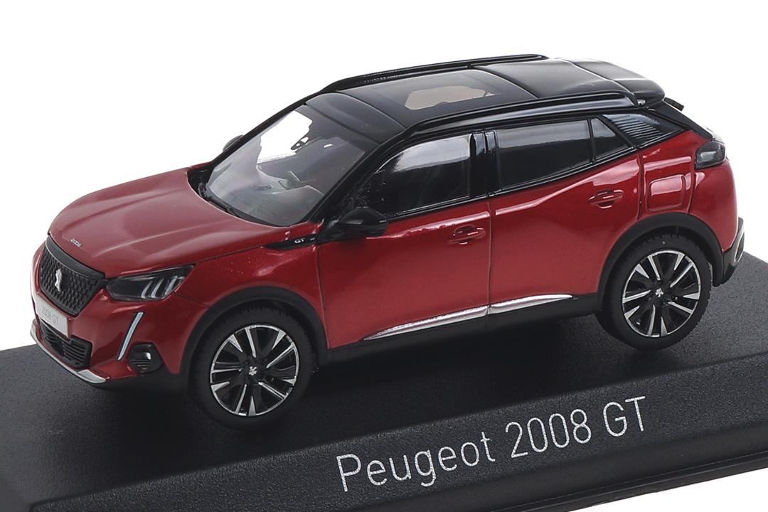 Peugeot 2008 GT 2020 Elixir Red Norev 1:43 472863
