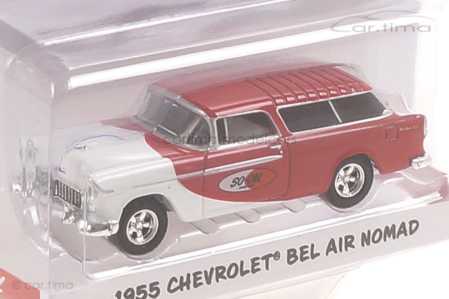 Chevrolet Bel air Nomad 1955 rot/weiß ACME 1:64 GL-51340