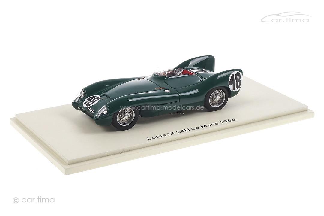 Lotus IX 24h Le Mans 1955 Chapman/Flockhart Spark 1:43 S4397