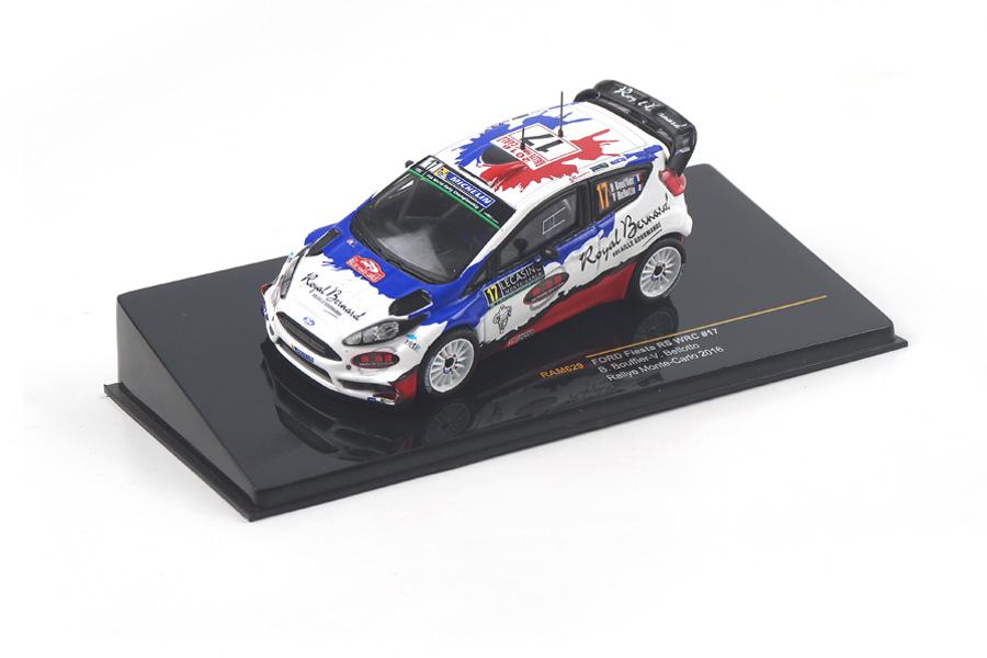 Ford Fiesta RS WRC Rally Monte Carlo 2016 Bouffier/Bellotto IXO 1:43 RAM629