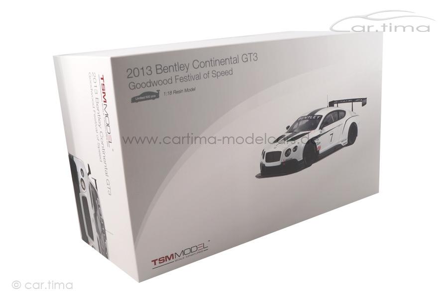Bentley Continental GT3 Goodwood 2013 TSM 1:18 TSM141829R