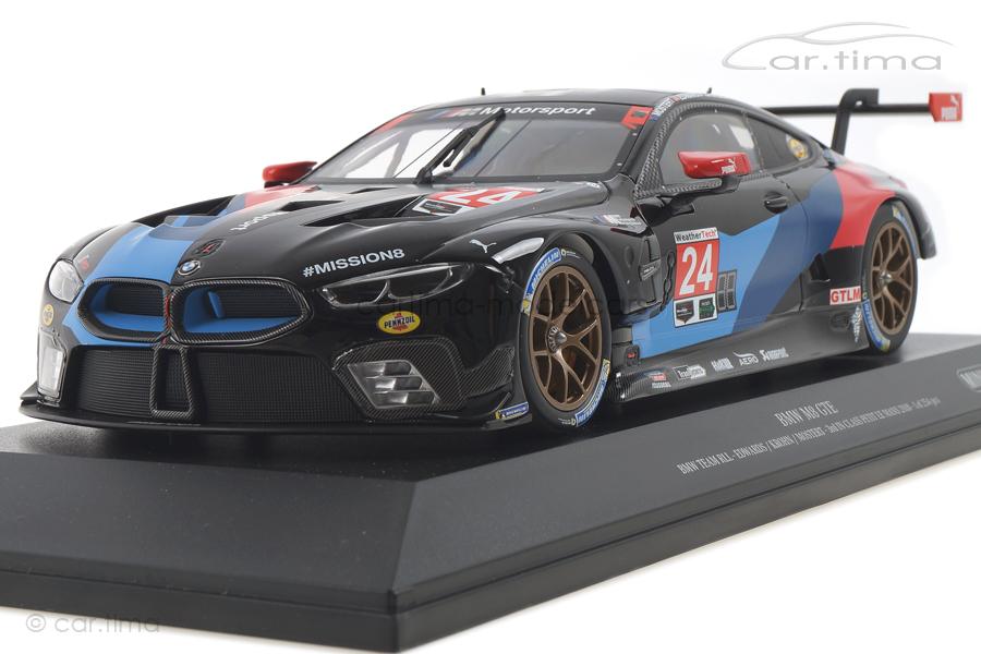 BMW M8 GTE Petit Le Mans 2018 Edwards/Krohn/Mostert Minichamps 1:18 155182924