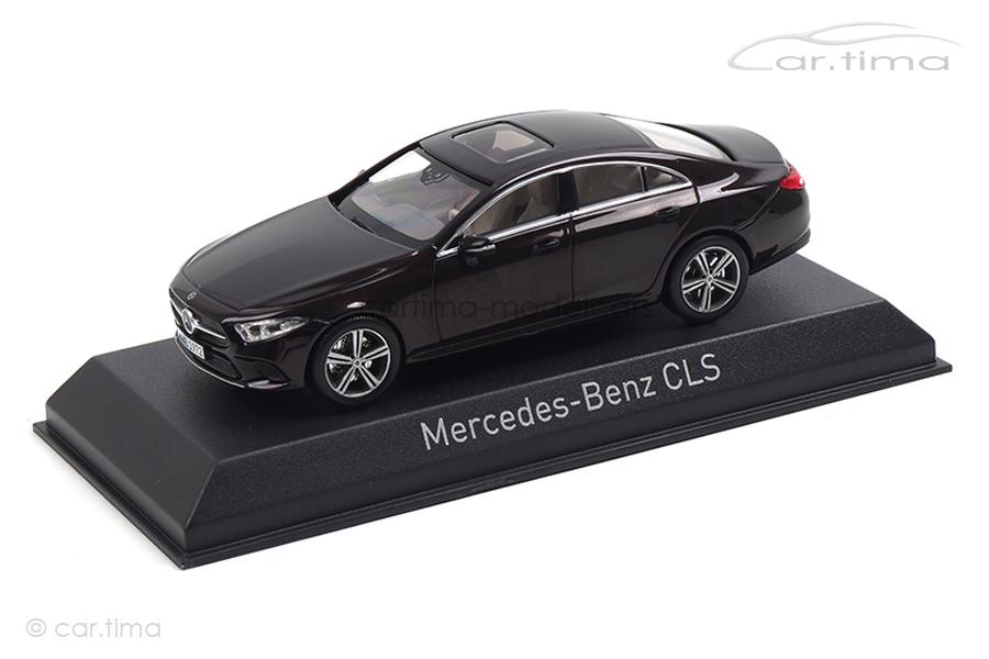 Mercedes-Benz CLS 2018 Rubinrot met. Norev 1:43 351305