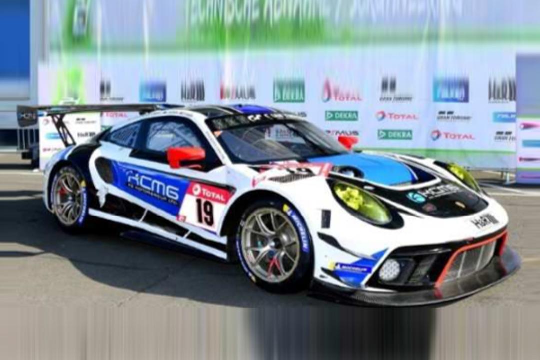 Porsche 911 GT3 R 24h Nürburgring 2020 Burdon/Imperatori/Liberati/Olsen Spark 1:43 SG708