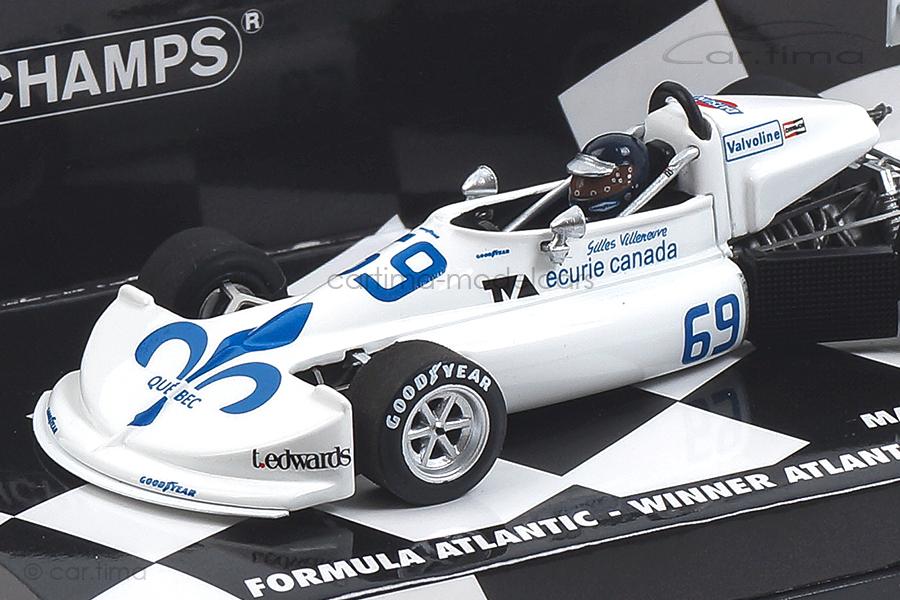 March Ford 76B Cosworth Atlantic Motorsport Park 1976 Villeneuve Minichamps 1:43 417762169