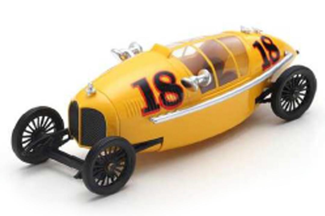 Clarke Racing Vehicle 1916 Jared A. Zichek Streamlined Dreams 3 Bizarre 1:43 B1068