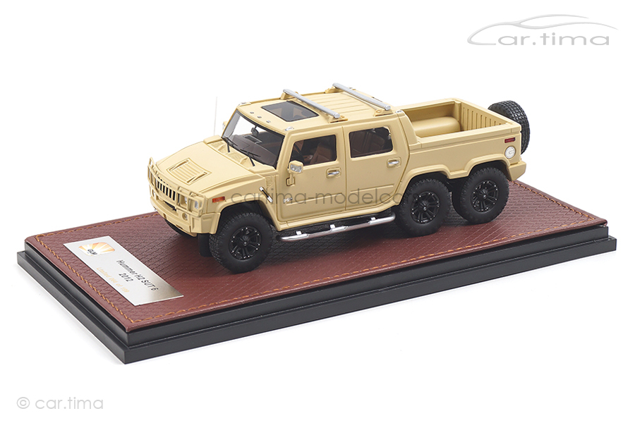 Hummer H2 SUT 6 Sahara beige GLM 1:43 GLM171002