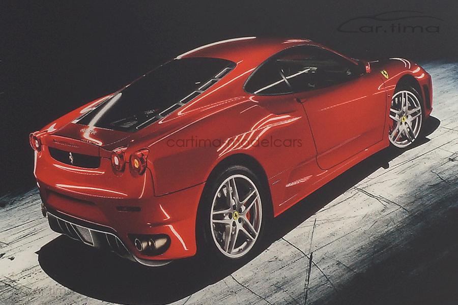Bildermeister MINIpic Ferrari F430 2008 Acrylglas-Aufsteller 14 cm x 20 cm RS11002225