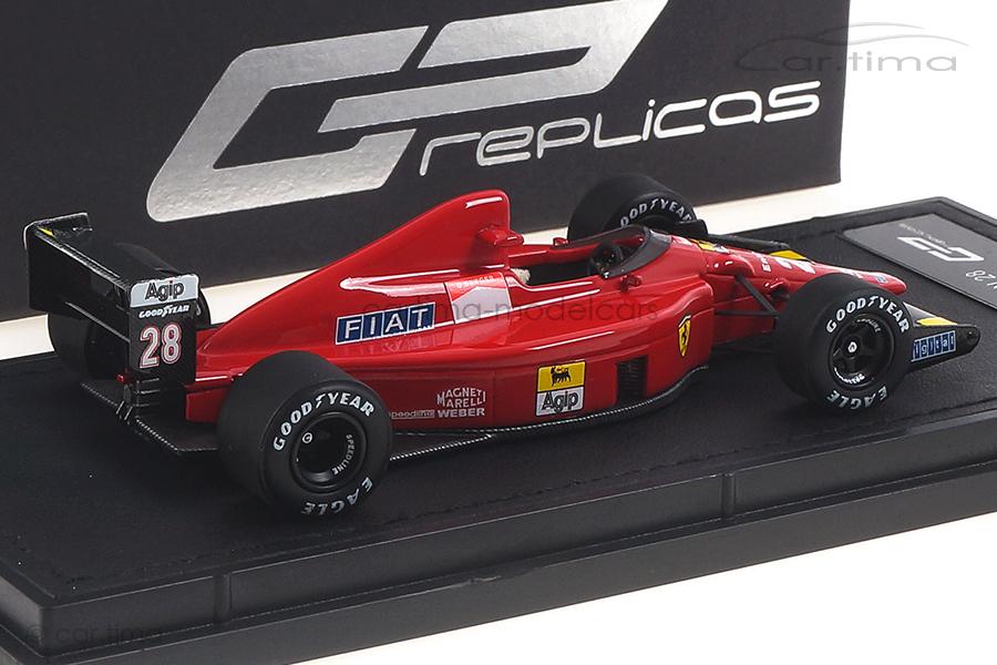Ferrari F189 640 GP 1989 Gerhard Berger GP Replicas 1:43 GP43-002B