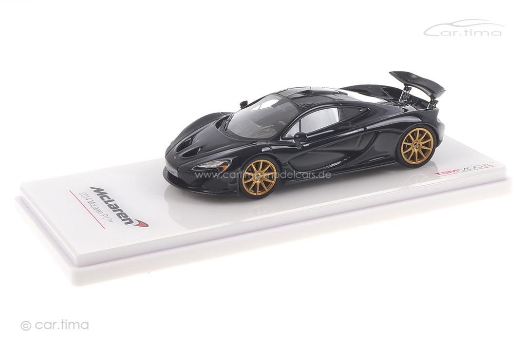 McLaren P1 Gotham black TSM 1:43 TSM164332
