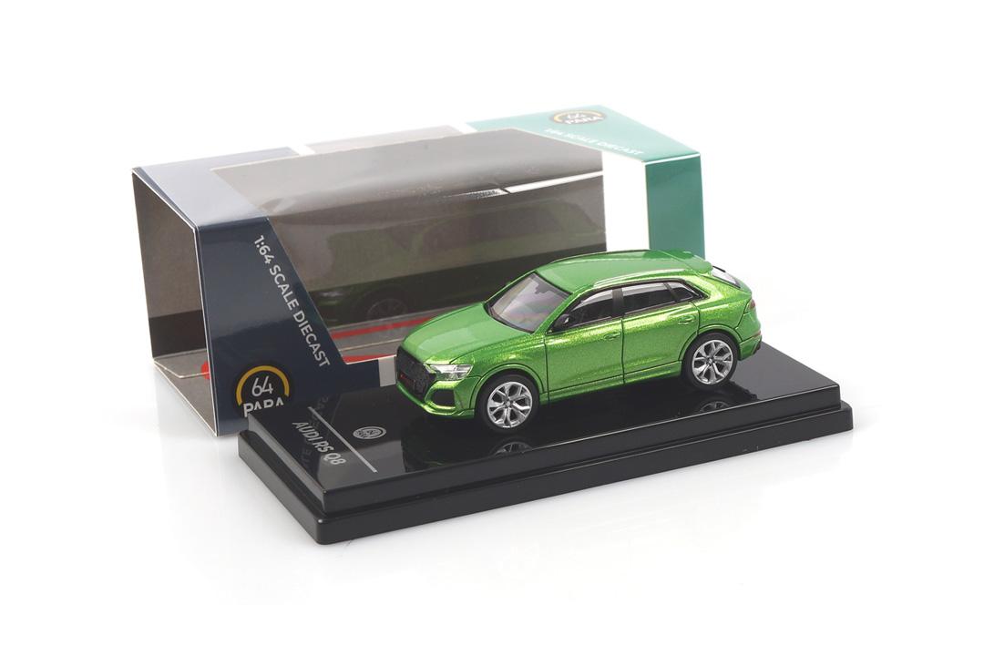 Audi RS Q8 Java green Paragon 1:64 PA-55171
