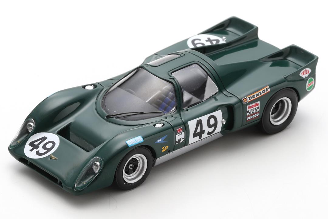 Chevron-Ford B16 24h Le Mans 1970 Hine/Skailes Spark 1:43 S9402