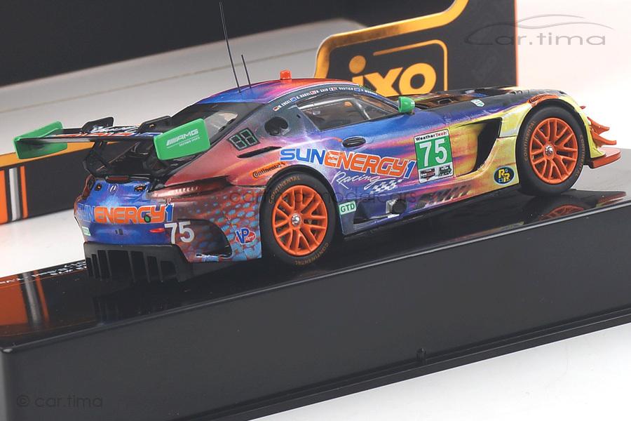 Mercedes-AMG GT3 24h Daytona 2017 Engel/Habul/Said/Vautier IXO Models 1:43 GTM113