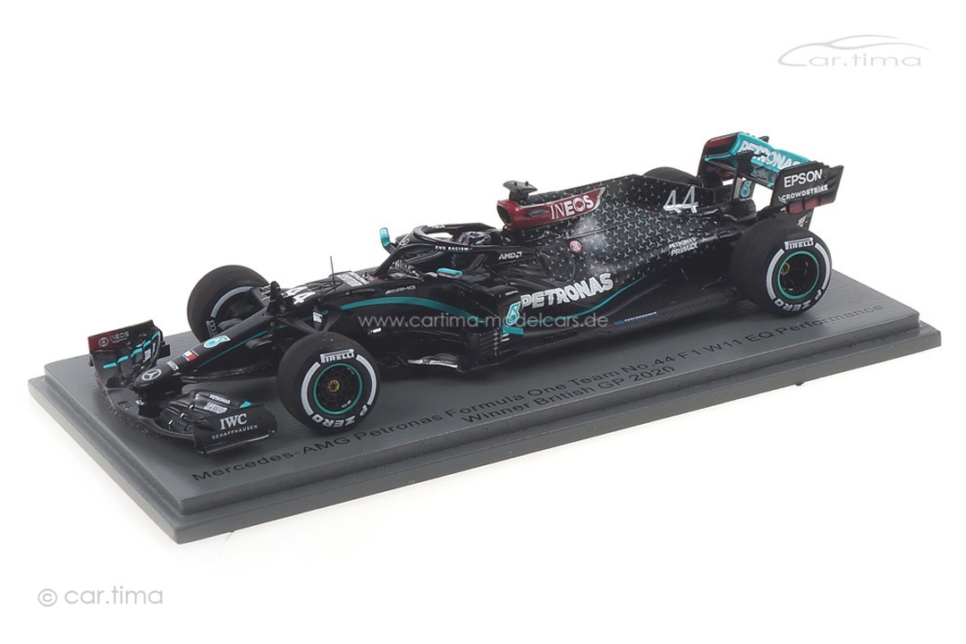Mercedes-AMG F1 W11 Winner GP Silverstone 2020 Lewis Hamilton Spark 1:43 S6477
