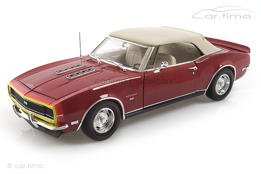 Chevrolet Camaro Convertible 1968 Unicorn red ACME 1:18 A1805718