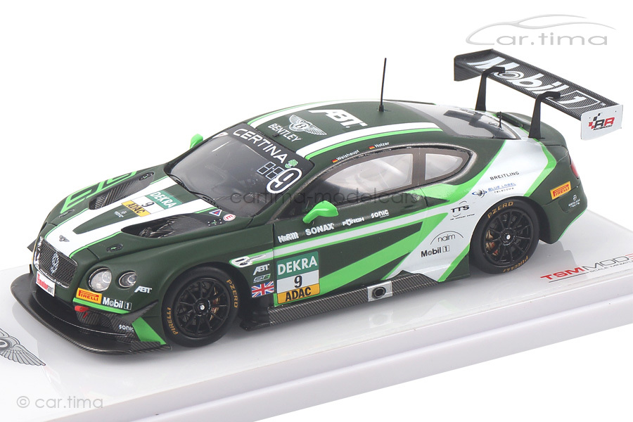 Bentley Continental GT3 GT Masters Red Bull Ring 2016 Holzer/Weishaupt TSM 1:43 TSM430182
