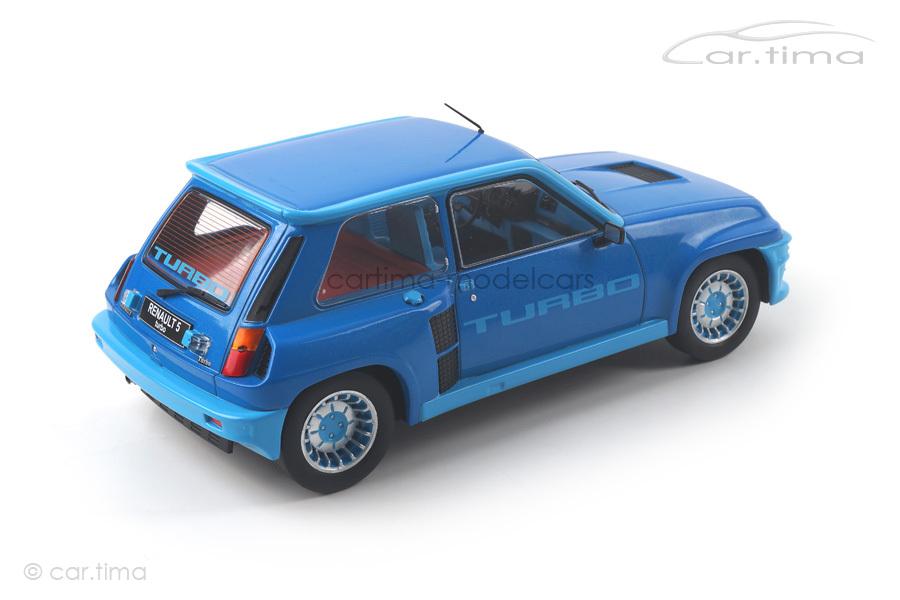Renault 5 Turbo 1 1981 blau met. IXO Models 1:18 18CMC005