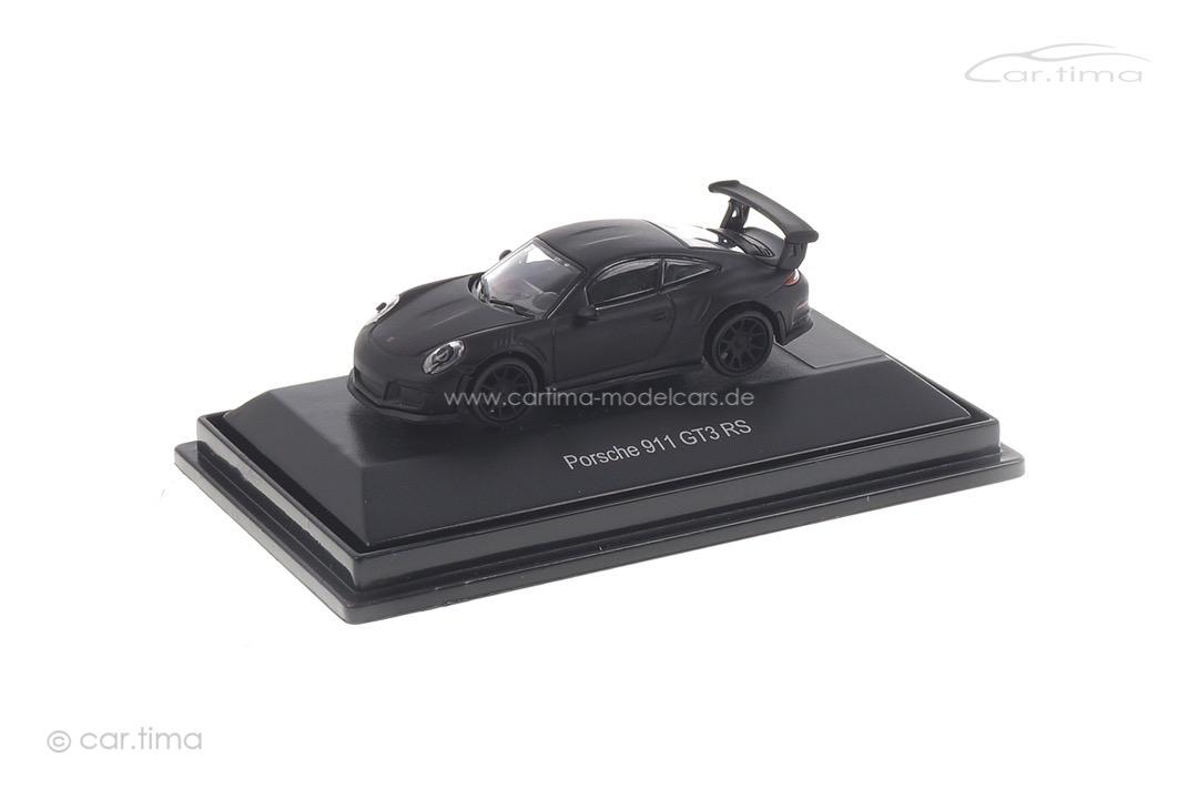 Porsche 911 (991) GT3 RS schwarz matt Schuco 1:87 452627000