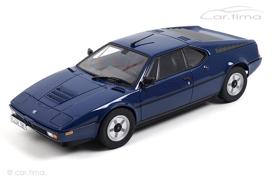BMW M1 1980 blau Norev 1:18 183224